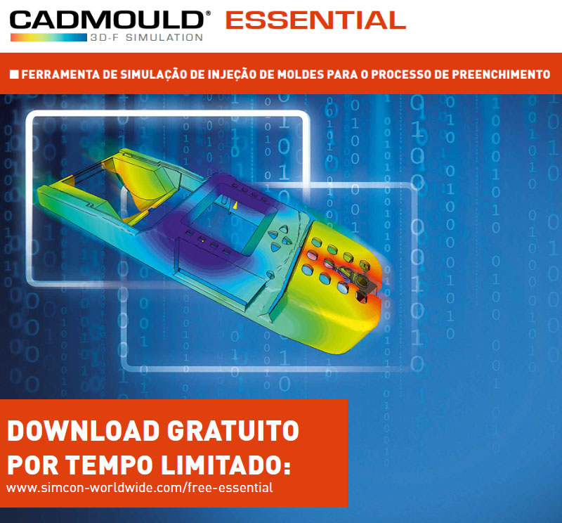 Faça o Download Gratuito do Cadmould Essential - Simulador de Injeção de Moldes 3