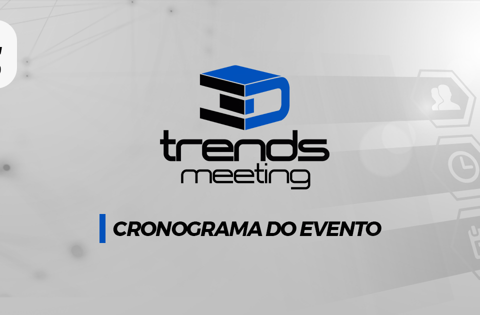 Cronograma de Palestras 3D Trends Meeting 2019 15