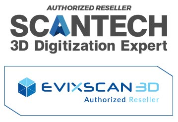 ScanTech Authorized Reseller Evatronix Authorized Reseller